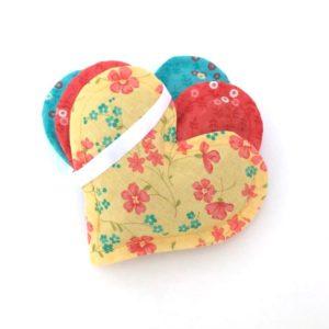 3 Pack Heart Sachets